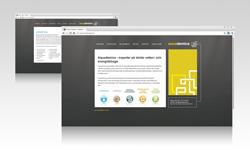 Aquademica webbplats